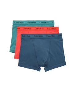 Calvin Klein 3pack boxershorts Majolica/ Red/ Raleigh