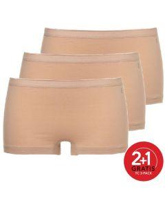 Ten Cate Vrouwen Short 3Pack Huid 2+1 Gratis