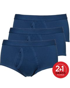Ten Cate Mannen Basic Classic Brief Denim 2+1 Gratis 3pack