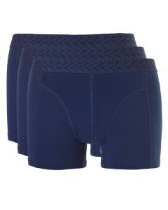 Ten Cate Mannen Basic Short 3Pack Navy 2+1 gratis!