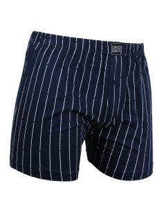 Gino Santi Klassieke boxer Navy Pin Stripe