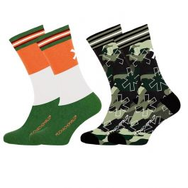Muchachomalo sokken 2pack Army X