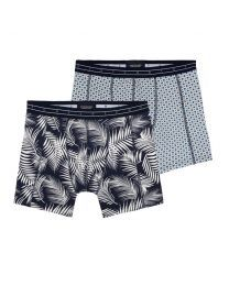 Scotch & Soda heren 2pack Ferns and Graphic