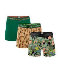 Muchachomalo jongens 3pack The world at your feet
