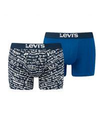 Levi's heren 2pack Scribble Dress Blue