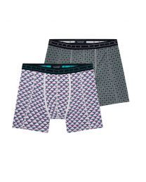 Scotch & Soda heren 2pack Squares and Pyramids