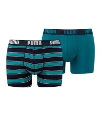 Puma heren 2pack Rugby Stripe Ocean Depths