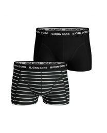 Björn Borg heren 2pack essential boxershorts Black Friday Black Beauty