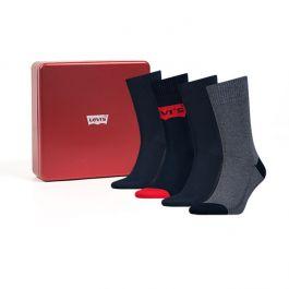 Levi's sokken 4pack Giftbox Blue