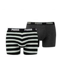 Puma heren 2pack Retro Stripe Green/black