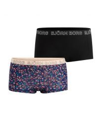 Björn Borg dames 2pack minishorts Tencel NY Flower